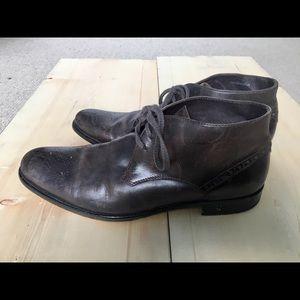 John Varvatos brown shoes